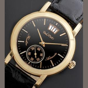Paul Picot. An 18ct automatic calendar wristwatch Firshire Ronde, Ref:185, Numbered 16, Circa 2001