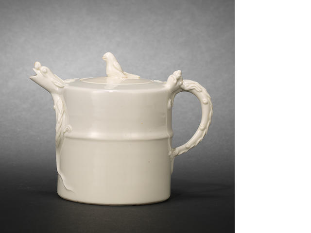 A Dehua ewer and cover Mid or Early Qing dynasty