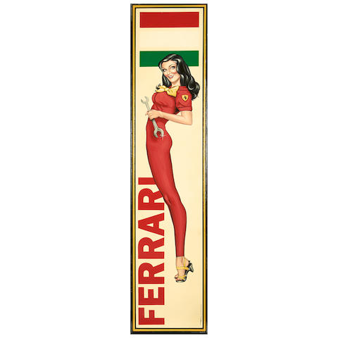 Tony Upson, 'Ferrari Girl',