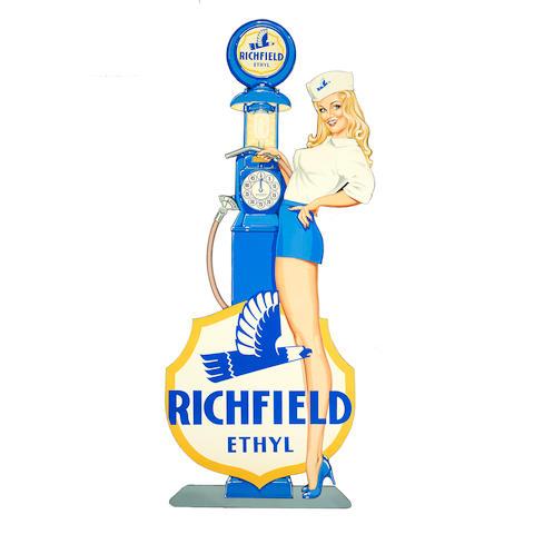 Tony Upson 'The 'Richfield' Girl',
