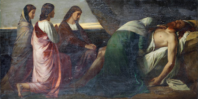 Anselm Feuerbach, The Lamentation of Christ