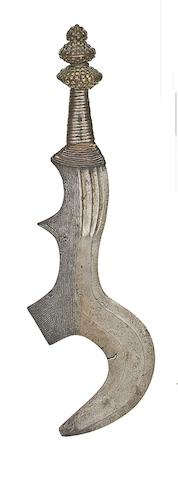 A Congolese Throwing Knife
