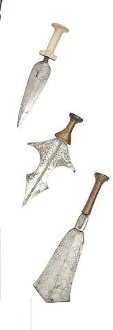 Three Congolese Daggers