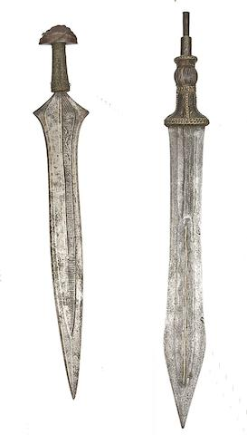 Two Congolese Swords