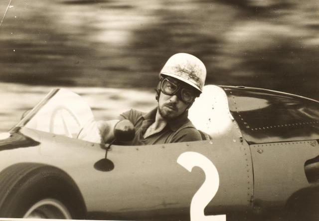 A quantity of 1960 Monaco Grand Prix original press photographs,