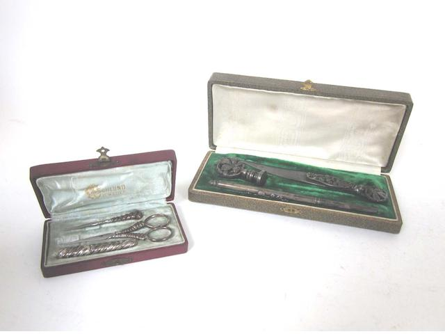 A quantity of  silver and vertu  items various dates and makers  (Qty)