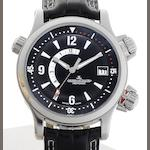 Jaeger-LeCoultre. A stainless steel automatic calendar wristwatch with power reserve Master Compressor Memovox, Ref:146.8.97/1/1708470, Sold August 9th 2007