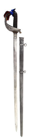 A Regimental Scottish Field Officer's Sword of the 1st D. Rifle Volunteers (Dunbarton)