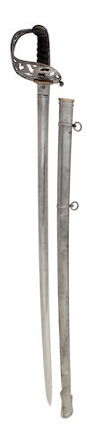 An 1887 Pattern Cavalry Officer's Sword