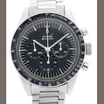 Omega. A stainless steel manual wind chronograph bracelet watch Speedmaster, Movement No.24952671, Circa 1966