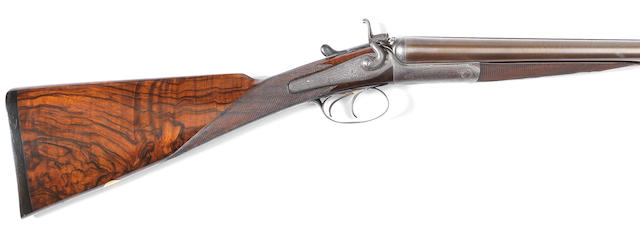 A 12-bore (2¾in) hammer gun by Gye & Moncrieff, no. 1303