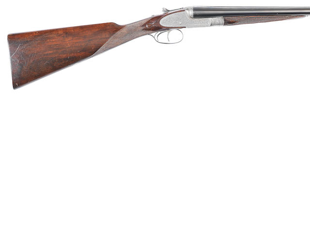 A 16-bore sidelock ejector gun by Stephen Grant, no. 7780 In a J.Æ.A. Dorhout Mees leather case