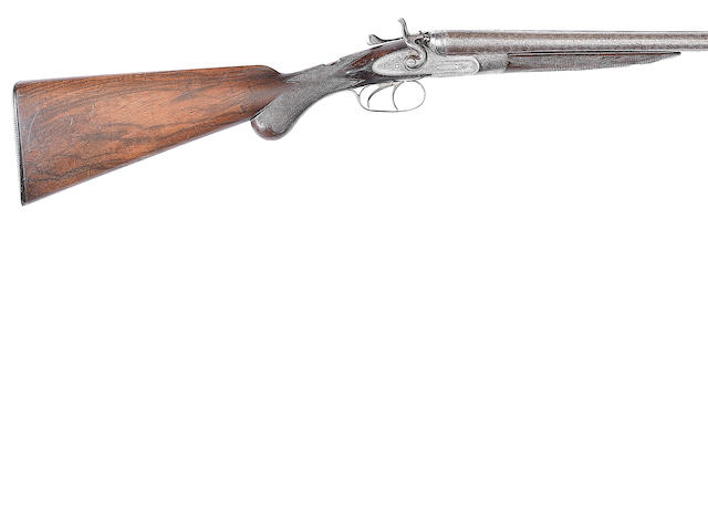 A 20-bore (2¾in) sidelock hammer gun by W.R. Pape, no. 8018