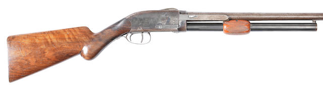 A Spencer-patent 12-bore (2¾in) 'Model 1886' pump-action shotgun by Spencer Arms Co., no. 1254