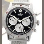 Breitling. A rare stainless steel manual wind chronograph wristwatch Co-Pilot, Ref:7650, Circa 1968