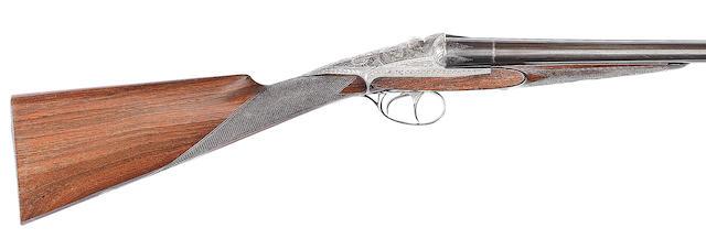 A 12-bore (2¾in) sliding-breech gun by Darne, no. 6M4 In a Gunmark leatherette case