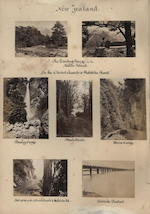 An album comprising 184 albumen paper photographs, circa 1880