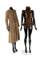 Two designer military style jackets, a waistcoat and a jacket all by Ralph Lauren