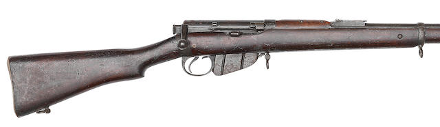 A .303 'Lee-Speed' Long Lee-Enfield service rifle by B.S.A. Co., no. 23306 Retailed by T. Stensby & Co.