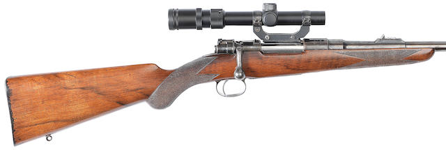 An early .275 Mauser sporting rifle by John Rigby & Co., no. 1286/687