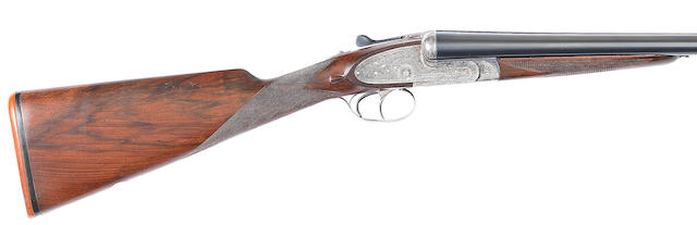 A 12-bore (2¾in) 'No. 2' sidelock ejector gun by Aguirre & Aranzabal, no. 449981 In a wooden case