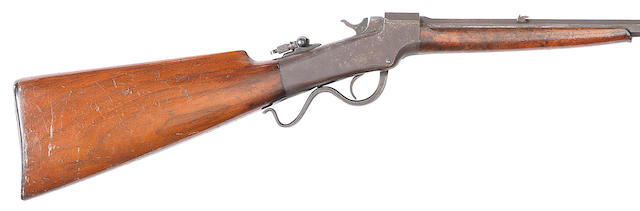 A .22 (L.) 'Ballard No. 3' gallery rifle by Marlin Fire Arms Co., no. 35623 Retailed by J. Rigby & Co.