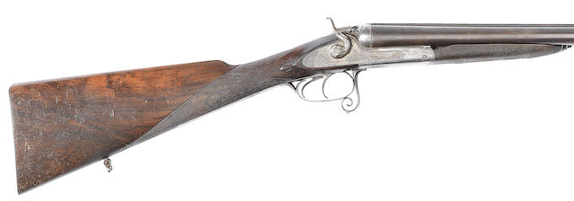 A 16-bore (2¾in) sidelock hammer gun by J. Diggonet, no. 16310