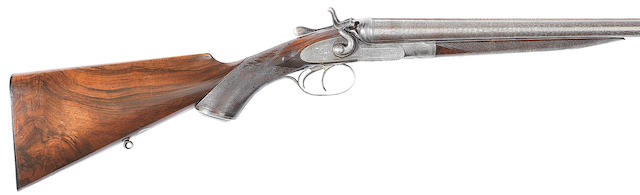 A 20-bore (2¾in) sidelock hammer gun by Holland & Holland, no. 5962