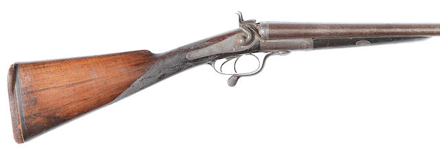 A 12-bore hammer gun by Boss & Co., no. 2798