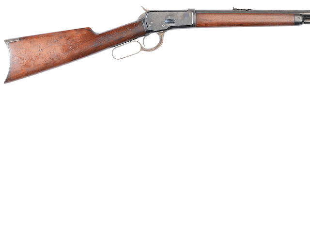 A .44 (W.C.F.) 'Model 1892' underlever rifle by Winchester, no. 31953
