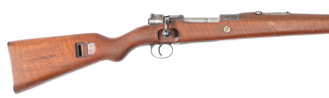 An 8x57mm 'Kar.98' Mauser service carbine by Amberg, no. 4133a