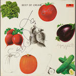 Cream: An autographed copy of the album 'Best Of Cream',