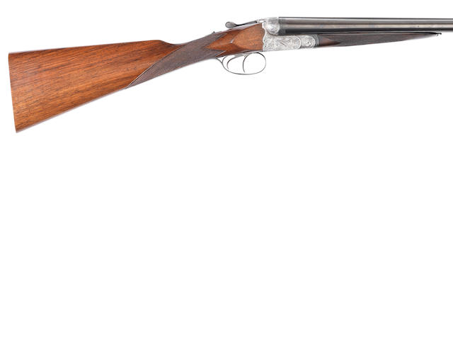 A 12-bore (2¾in) boxlock non-ejector gun by Franz Kettner, no. 828