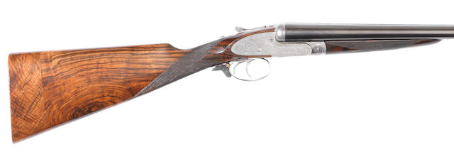 A 12-bore self-opening sidelock ejector gun by J. Purdey & Sons, no. 13956