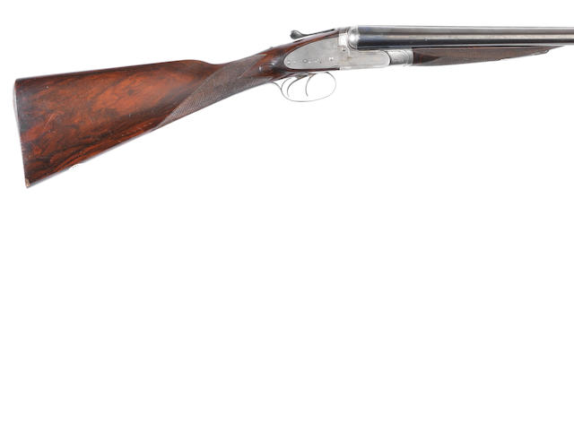 A 12-bore (2¾in) sidelock ejector gun by Thomas Horsley & Son, no. 3439 In its brass-mounted oak and leather case