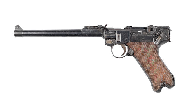 A 9mmP 'Model 1914' Artillery automatic pistol by DWM, no. 9707