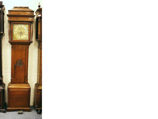 Robet Midgeley, Halifax: An oak longcase clock