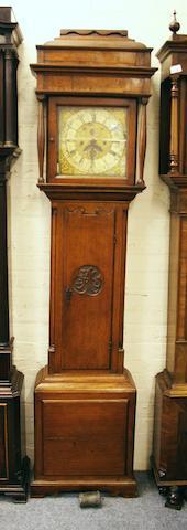 Robet Midgeley, Halifax: An oak longcase clock