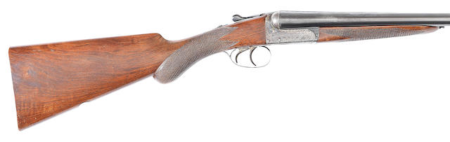 A 12-bore boxlock ejector gun by Webley & Scott, no. 129022