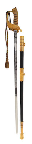 An 1846 Pattern Naval Officer's Sword