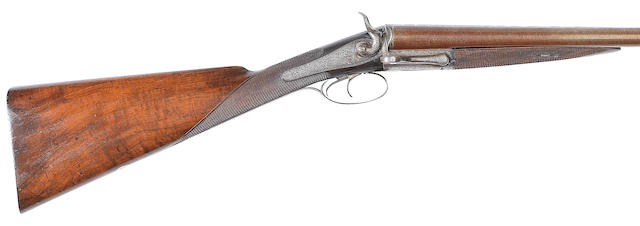 A Dougall-patent 12-bore 'Lockfast' hammer gun by J.D. Dougall, no. 2141