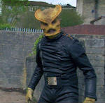 The Sarah Jane Adventures, Series 3 and 4- The Prisoner of Judoon/ Vault of Secrets: A complete Androvax costume, 2008 and 2010, comprising;