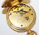 An 18ct gold open face pocket chronometer