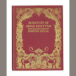 DULAC (EDMUND) OMAR KHAYYAM. Rubaiyat, [1909]--HOUSMAN (LAURENCE) Stories from the Arabian Nights; and others, all but one by Dulac (6)