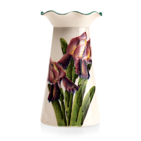 A Wemyss Grosvenor 'Irises' vase