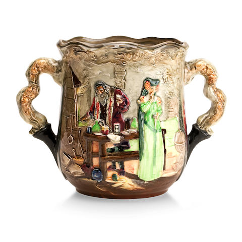 A Royal Doulton limited edition 'Apothecary Jug' designed by Charles Noke and Harry Fenton