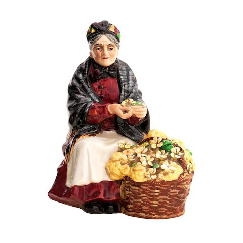 A Royal Doulton figure 'Primroses'