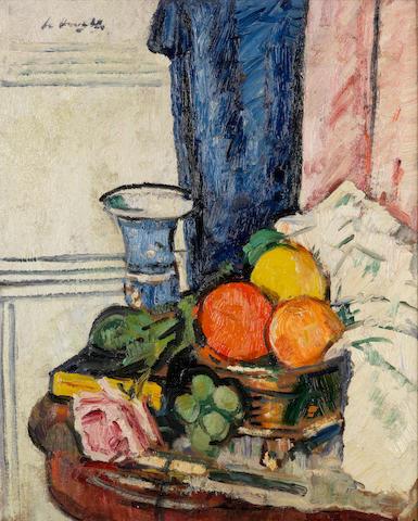George Leslie Hunter (British, 1877-1931) Still-life