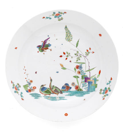 An rare pair of Meissen dishes, circa 1730-35