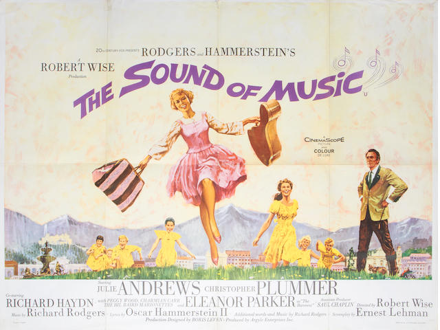 The Sound Of Music, Twentieth Century Fox, 1965,